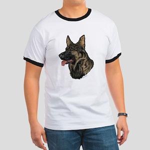 Sable German Shepherd face T-Shirt