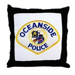 Oceanside Police Throw Pillow
