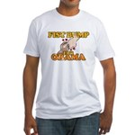 Fist Bump for Obama Fitted T-Shirt