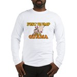 Fist Bump for Obama Long Sleeve T-Shirt