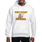 Fist Bump for Obama Hooded Sweatshirt