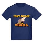 Fist Bump for Obama Kids Dark T-Shirt