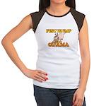 Fist Bump for Obama Women's Cap Sleeve T-Shirt
