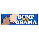 Fist Bump for Obama Bumper Sticker