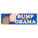 Fist Bump for Obama Bumper Sticker (10 pk)