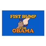 Fist Bump for Obama Rectangle Sticker