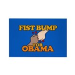 Fist Bump for Obama Rectangle Magnet (100 pack)