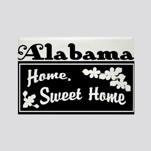 Alabama Rectangle Magnet