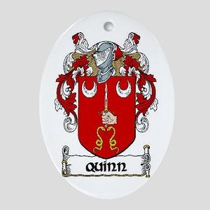 Quinn Coat of Arms Keepsake Ornament