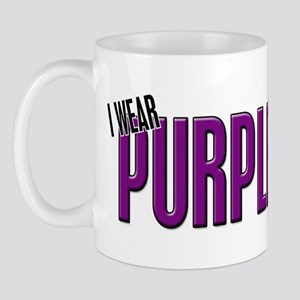 I Wear Purple For Someone Special 10 Mug
