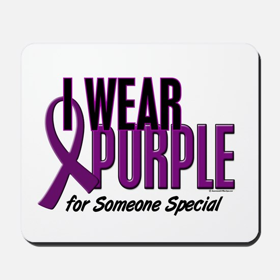 I Wear Purple For Someone Special 10 Mousepad