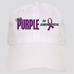 I Wear Purple For Someone Special 10 Cap