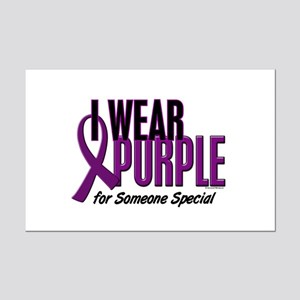I Wear Purple For Someone Special 10 Mini Poster P