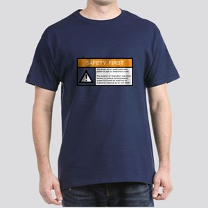 Safety First Navy T-Shirt