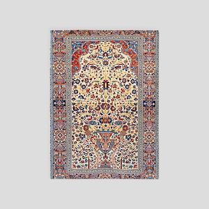 Kashan Persian 5'x7'Area Rug