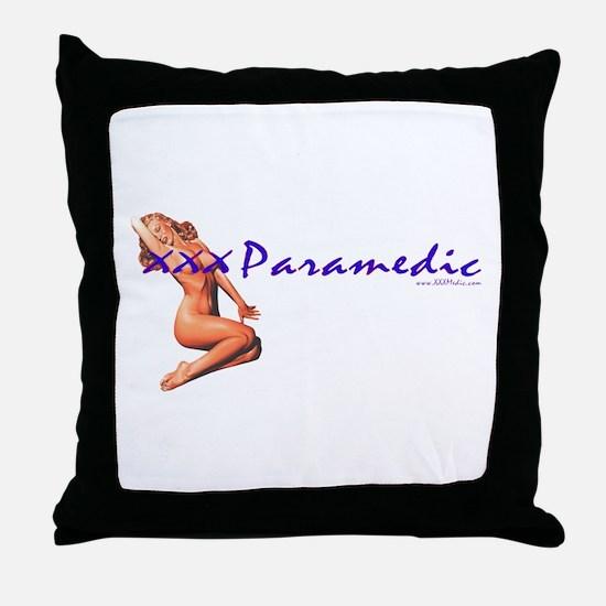 Medic Paramedic Pinup Throw Pillow