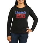 Defend America, Defeat Obama Women's Long Sleeve D