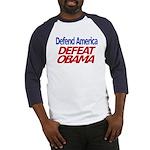 Defend America, Defeat Obama Baseball Jersey