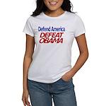 Defend America, Defeat Obama Women's T-Shirt