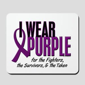I Wear Purple For Fighters Survivors Taken 10 Mous