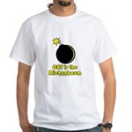 CBT is the Michenbaum White T-Shirt