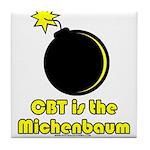 CBT is the Michenbaum Tile Coaster