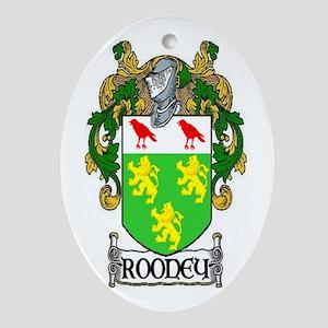 Rooney Coat of Arms Keepsake Ornament