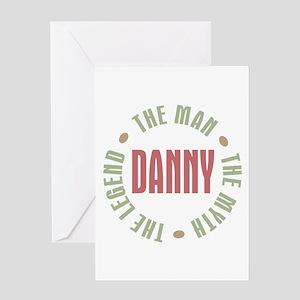 Danny Man Myth Legend Greeting Card