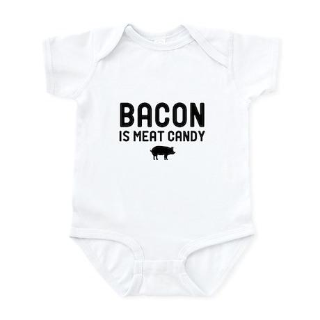 Bacon Meat Candy Infant Bodysuit