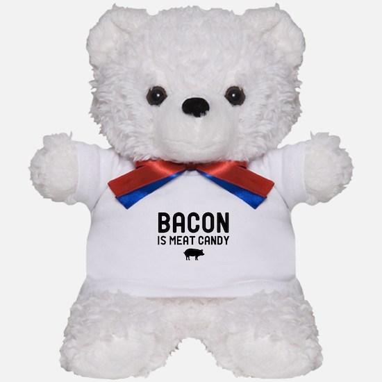 Bacon Meat Candy Teddy Bear