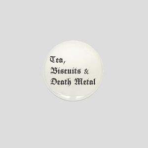 Death Metal Mini Button
