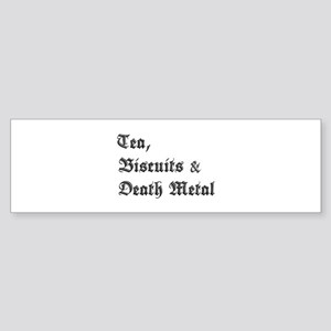 Death Metal Bumper Sticker