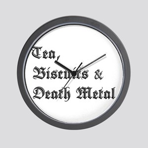 Death Metal Wall Clock
