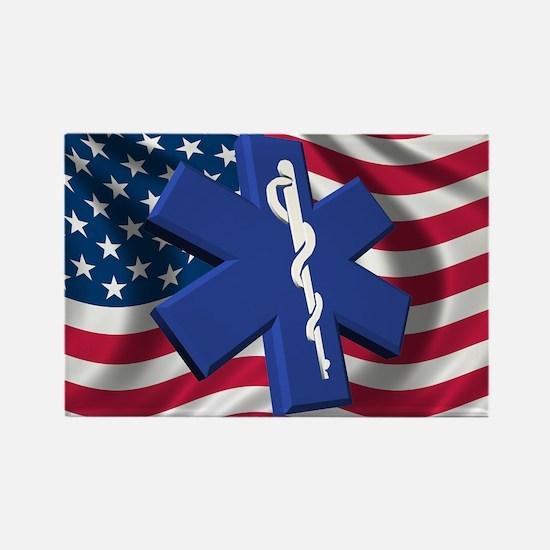 EMT Paramedic Rectangle Magnet (10 pack)