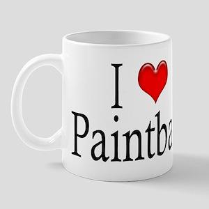 I Heart Paintball Mug