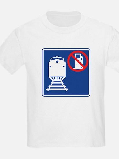 Save Gas: Take the Train T-Shirt