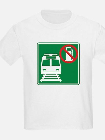 Save Gas: Take Light Rail T-Shirt