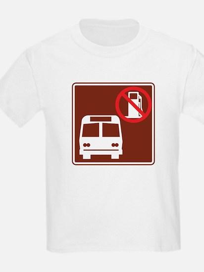 Save Gas: Take the Bus T-Shirt