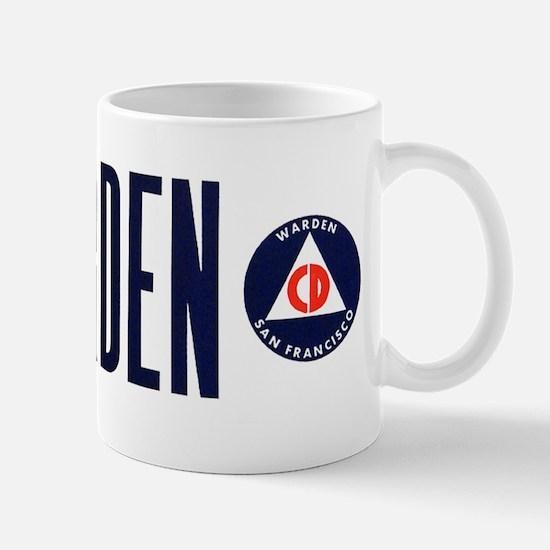 S.F. Civil Defense Mug