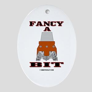 Fancy A Bit Oval Ornament