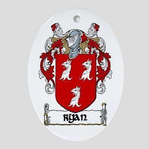 Ryan Coat of Arms Keepsake Ornament