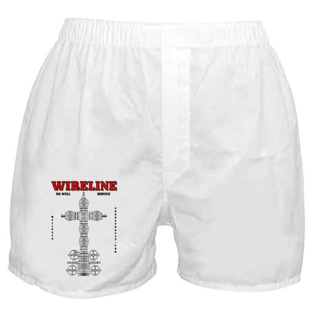 Wireline Oil Well Service Boxer Shorts
