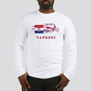 "Whooligan Croatia ""Vetreni"" Long Sleeve T-Shirt"