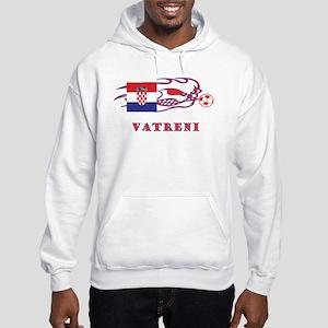 """Whooligan Croatia """"Vetreni"""" Hooded Sweatshirt"""