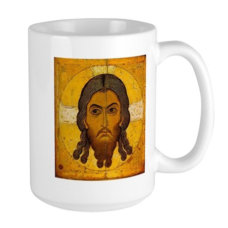 Christos Acheiropoietos Large Mug