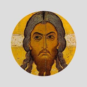 """Christos Acheiropoietos 3.5"""" Button"""