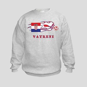 "Whooligan Croatia ""Vetreni"" Kids Sweatshirt"