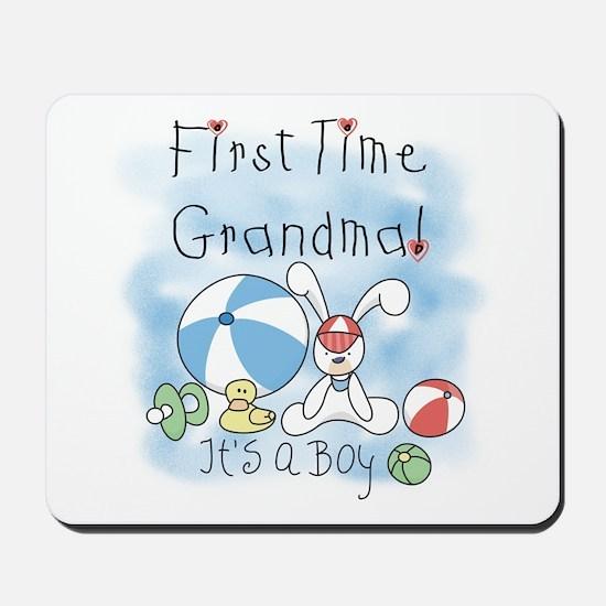 Grandma Baby Boy Mousepad