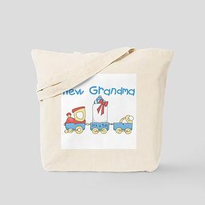 Train New Grandma Tote Bag