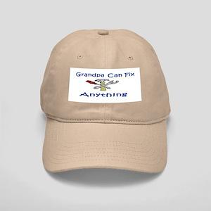 Grandpa Can Fix Anything Cap